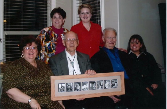 Surprising Paul on his 80th birthday - March 2006