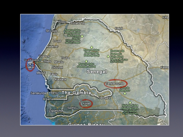 My January trip around Senegal