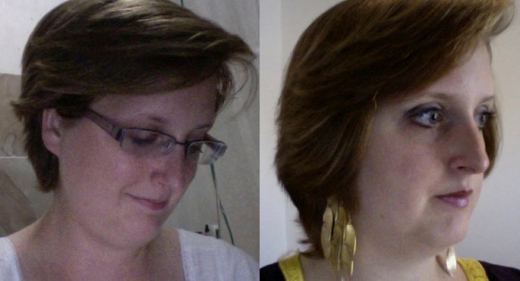 A side-by-side comparison from October to January