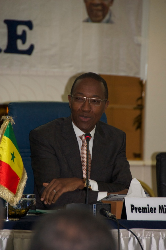 Abdoul Mbaye - Prime Minister of Senegal