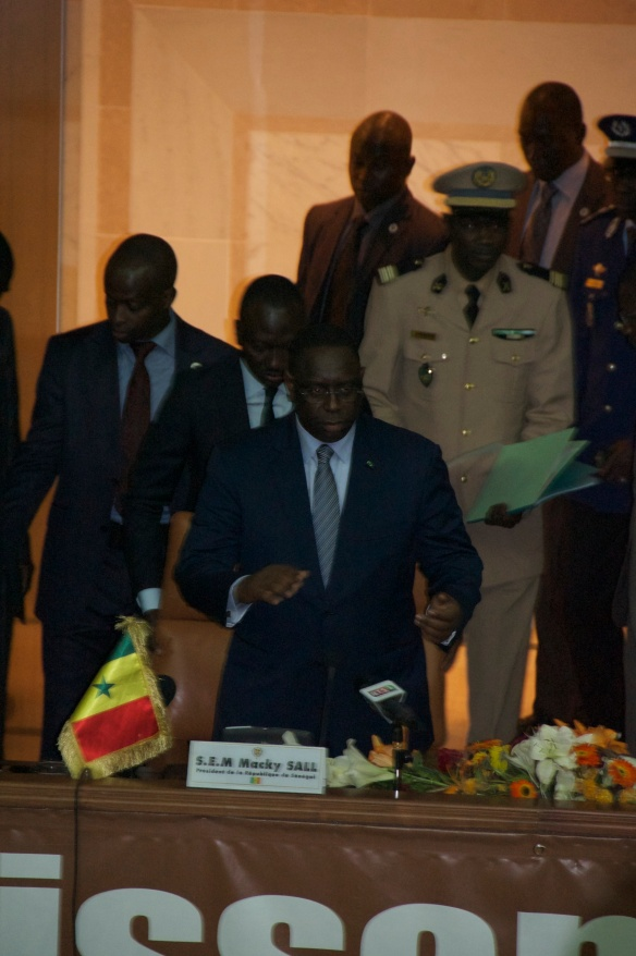 Macky Sall - President of Senegal