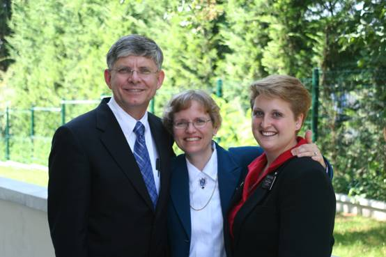 With my second mission president and his wife - President and Soeur Merrell