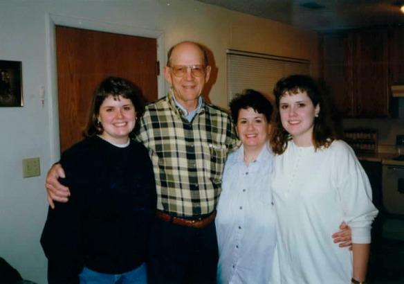 Paul Thompson w Mom & Girls