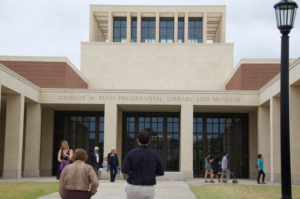 The front of the George W. Bush Presidential Library