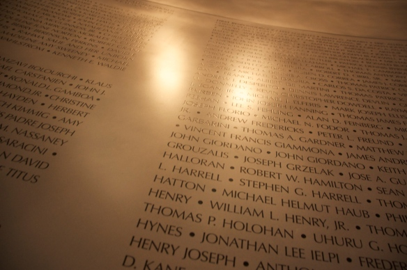 More names of the 3,000 people who died on 9/11